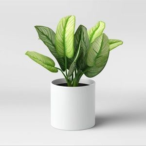 """Threshold 7"""" x 11"""" Artificial Leaf Potted Plant"""